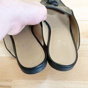 Franco Sarto Shoes - Franco Sarto   Prentice Black Tassel Mules 9.5